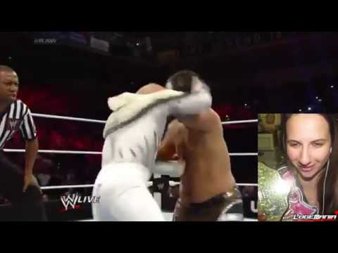 Wwe Raw April 21, 2014 Los Matadores Vs 3mb Live Commentary video