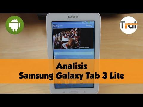 Samsung Galaxy Tab 3 Lite, Análisis en Español