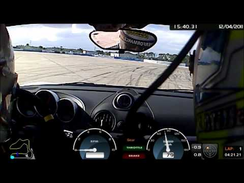 Cayman R PDK Shakedown - Sebring International Raceway - December 2011