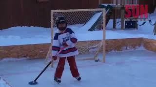 Do-it-yourself hockey rink