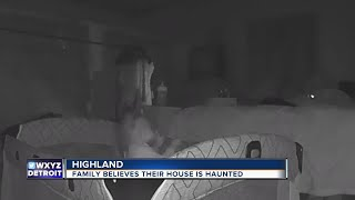 Michigan couple says ghost seen on nanny cam scratched infant daughter