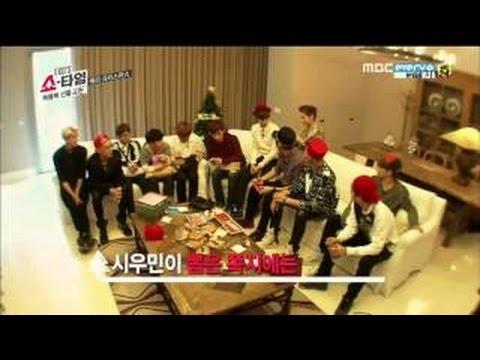 EXO Secret Santa Scene From  EXO Showtime EP 4