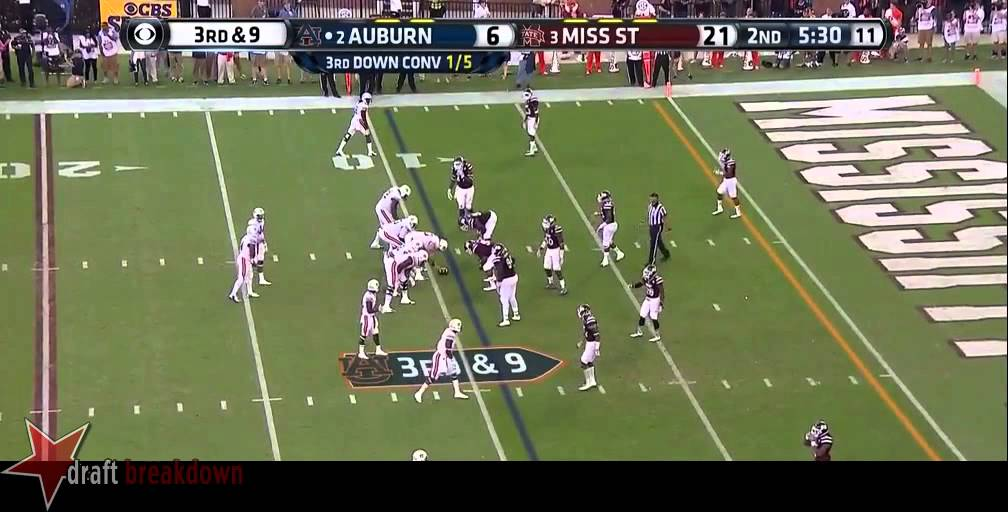 Nick Marshall vs Mississippi State (2014)