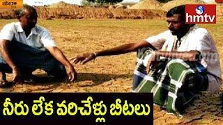 Farmers Facing Problems With Water Crisis For Rabi Crop In Karimnagar | hmtv