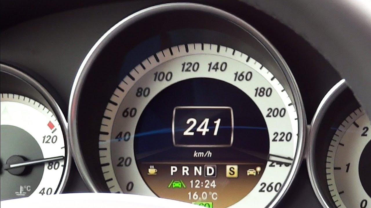 Mercedes C250 Cdi Acceleration 0 241 Km H Top Speed W204