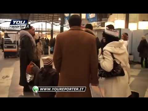 Neve a Milano, treni in ritardo (Youreporter)