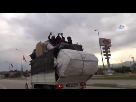 Trafikte Tehlikeli Yolculuk Kameralara Böyle Yansıdı