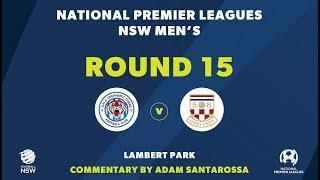 NPL NSW, Round 15, APIA Leichhardt Tigers FC v Sydney United 58 FC NPLNSW