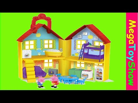 Peppa Pig peek n surprise Playhouse playset review