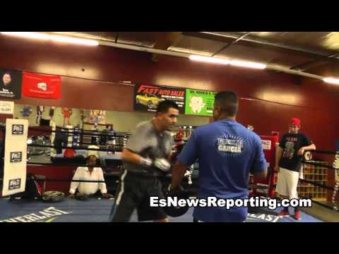 robert garcia and brandon rios get ready for manny pacquiao - EsNews Boxing