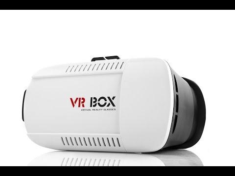 "VR Box 3D Virtual Reality VR Glasses 2016 review Google Cardboard for 4.7"" - 6"" Smart Phone ebay"