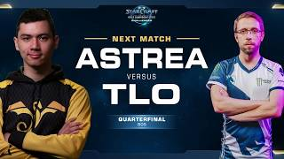 Astrea vs TLO PvZ - Quarterfinals - WCS Challenger NA Season 1