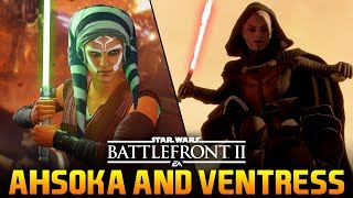 AHSOKA & VENTRESS LEAKS & MODS: Star Wars Battlefront 2