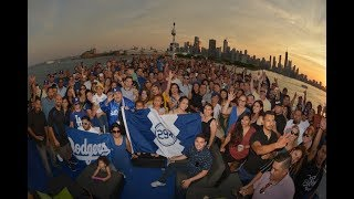 Pantone 294 Chicago Takeover June 18, 2018