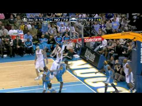 Kenyon Martin dunks on Emeka Okafor Video