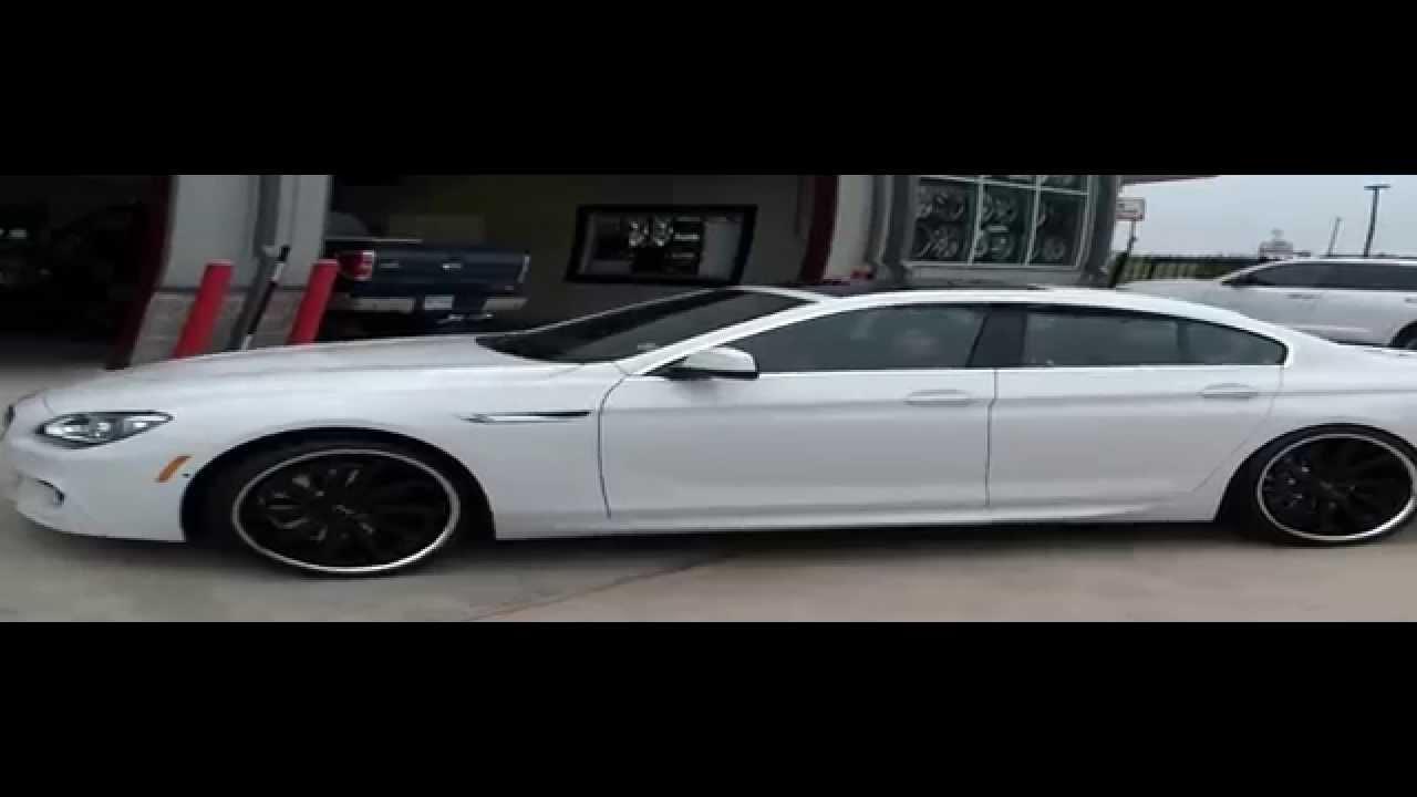 Bmw Rims 22 Inch >> 2013 BMW 6 Series on 22 Inch Wheels, Gianelle Wheels | AmericanWheelsandTire.com - YouTube