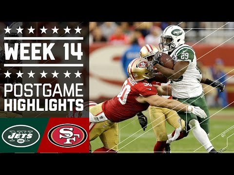Jets Vs 49ers Nfl Week 14 Game Highlights