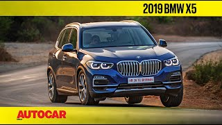 2019 BMW X5 Review | First India Drive | Autocar India