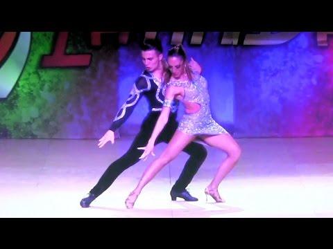 WLDCup 2015 ~ Final Bachata Cabaret ~ Gabriela Alos & Maxi Micheas
