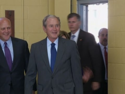 Bush in New Orleans for Katrina Anniversary