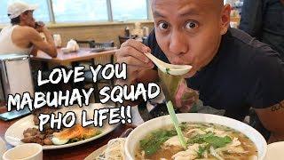 'HUNG LONG' DELICIOUS PHO VIETNAMESE FOOD!   Vlog #167