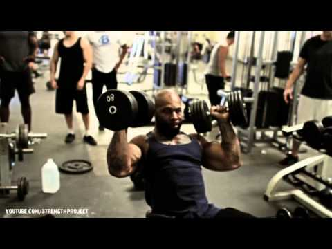 Shoulder Workout with CT Fletcher