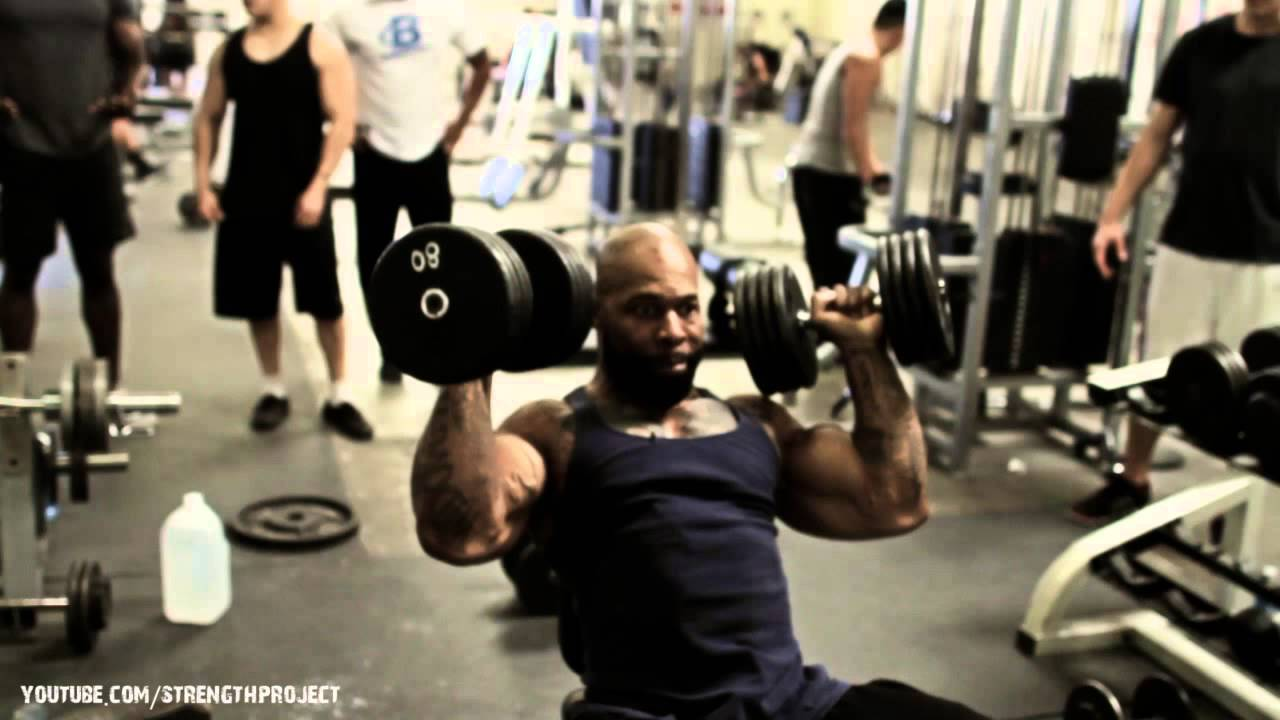 Shoulder Workout with CT Fletcher - YouTube