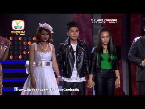 The Voice Cambodia - Live Show 2 - Oun Chheu Jab Nas Ter Bong Doeng Teh - Sou Sirika