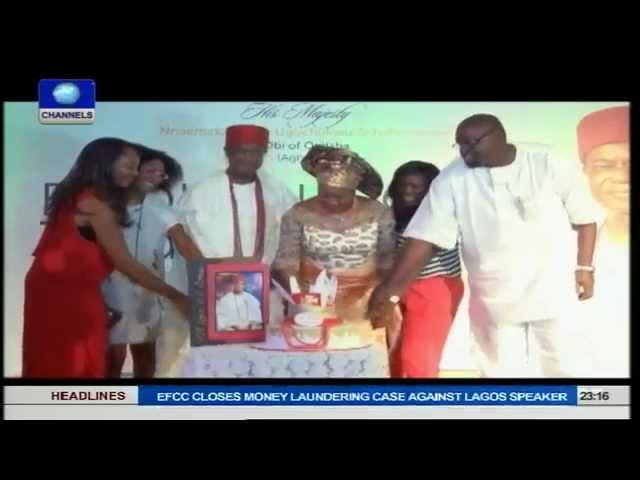 Metrofile: Obi Of Onitsha; Nnaemaka Achebe's 73rd Birthday And Book Launch