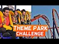 Theme Park Challenge | Rimorav Vlogs