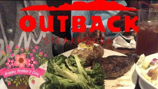 OUTBACK STEAKHOUSE - MOTHER'S DAY MUKBANG 목뱅