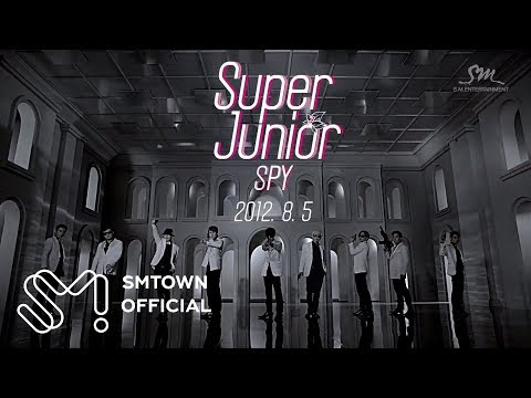 Super Junior 슈퍼주니어 spy music Video teaser video