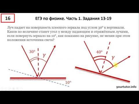 Физика егэ 13 задание