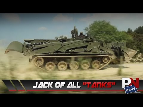 This 700 HP Swiss Army Knife Of A Tank Is Just Insane!