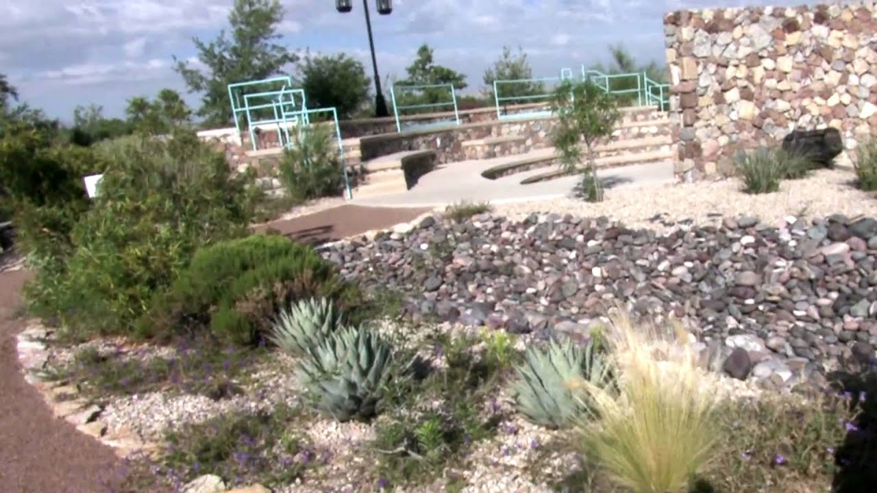 Xeric Demonstration Garden Layering Landscapes El Paso