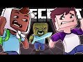 Two idiots attempt the Unfair Escape room in Minecraft!