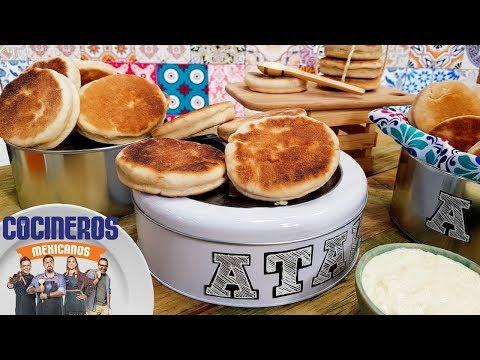 Receta: Gorditas de nata | Cocineros Mexicanos