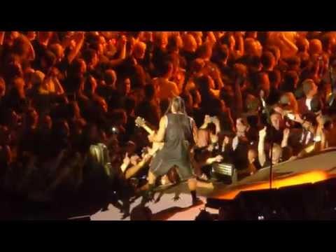 Metallica-Wejście, Battery, Master Of Puppets (Warszawa-Stadion Narodowy, Sonisphere, 11.07.2014)