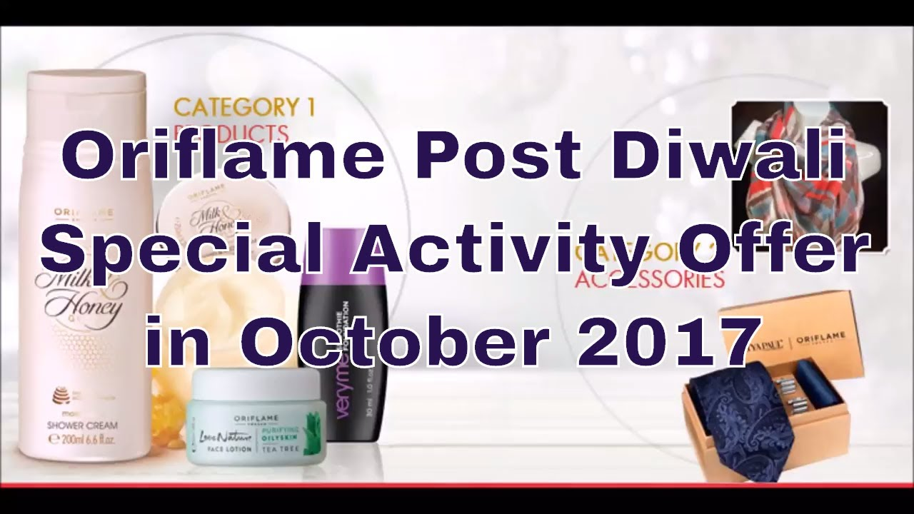 Oriflame Post Diwali Special Activity Offer | Oriflame Dhamaka ...