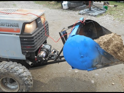 Home Made Dump Loader