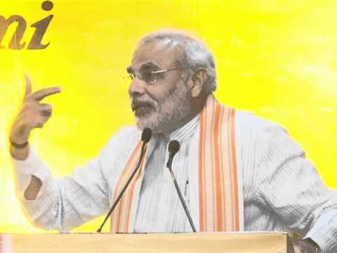 Shri Narendra Modi releases the Gujarati version of Radhanath Swami's autobiography 'Pele Par no Pravas'