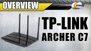 TP-LINK Archer C7 AC1750 Gigabit Router Overview - Newegg TV
