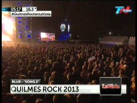 Song 2 Blur - Quilmes Rock 2013 Argentina