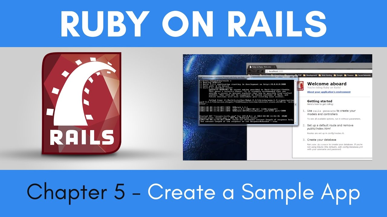 ruby on rails tutorial point
