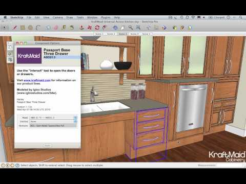 Using Dynamic Components in Google SketchUp