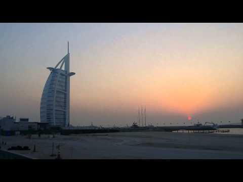 Sunset at Burj Al Arab