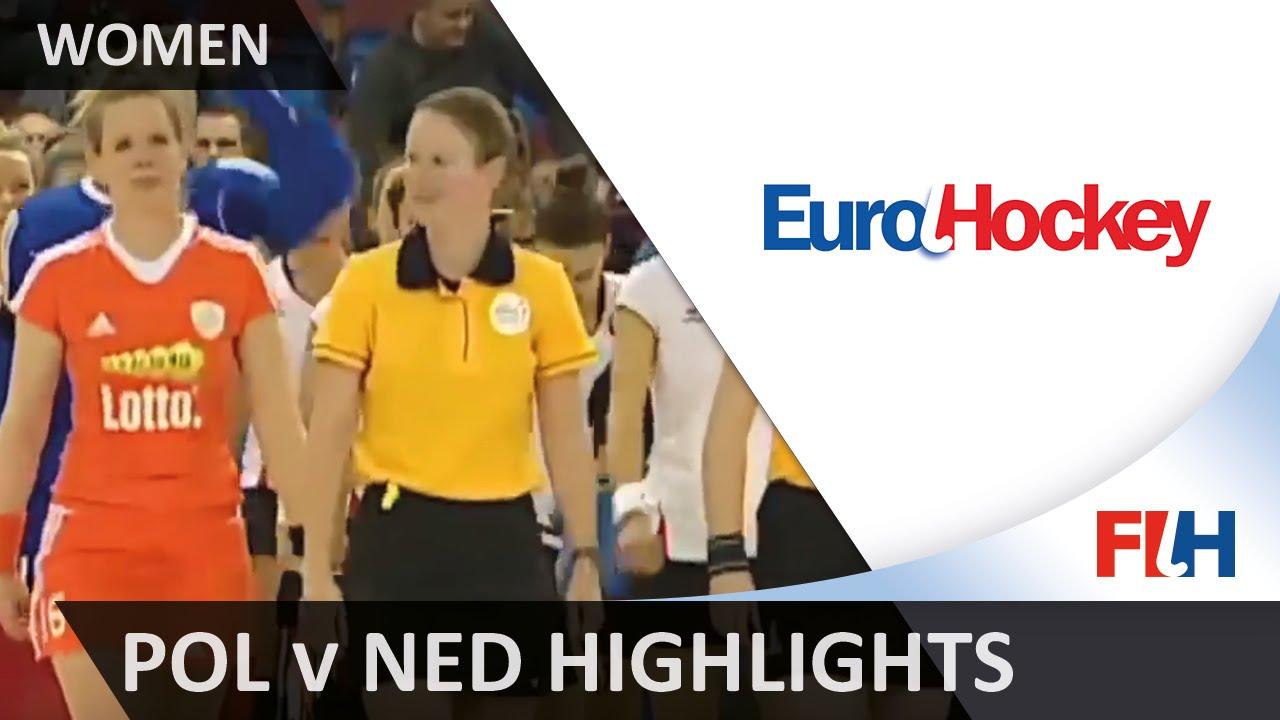 Poland v Netherlands - Final Match Highlights - Women's EuroHockey Indoor Championships 2016