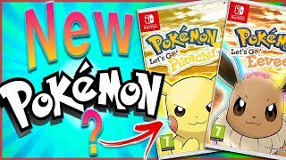 Possible New Pokémon For Pokémon: Lets Go Pikachu and Lets Go Eevee Revealed?