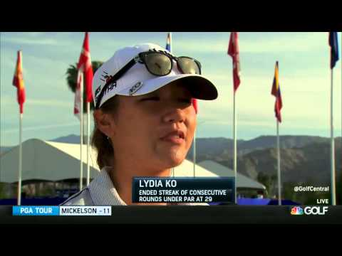 2015 ANA Inspiration Round 2 Lydia Ko's Performance (the par ty is over..)