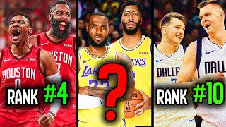 Ranking The TOP 10 DUOS For The 2020 NBA Season!
